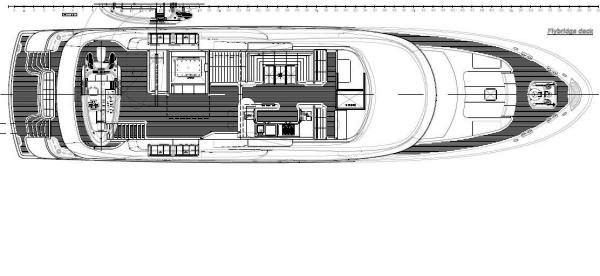 Darsea -  Flybridge Layout