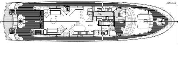 Darsea -  Main Deck Layout
