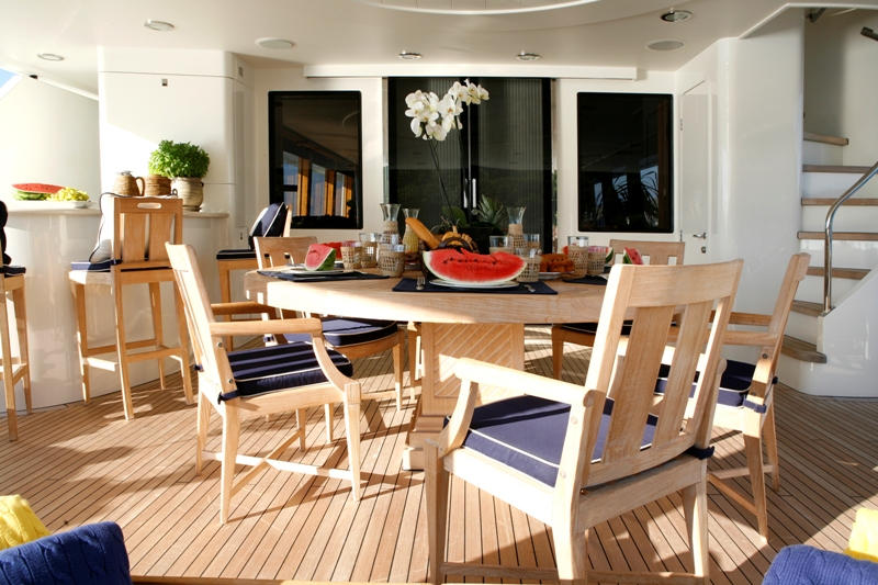 ENDLESS SUMMER - Aft Deck