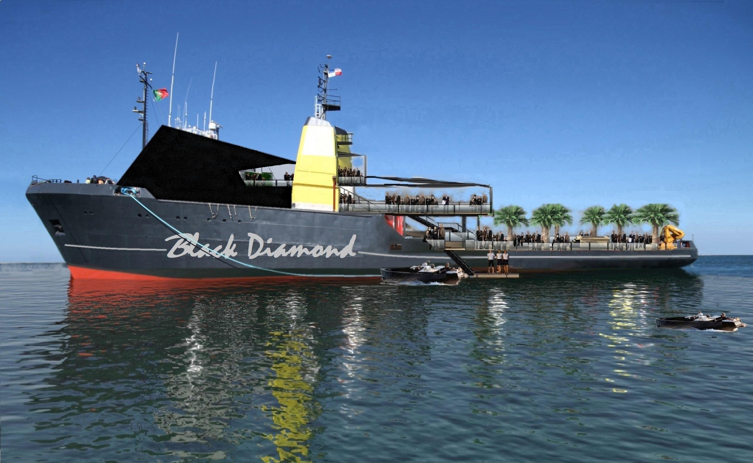 Event yacht BLACK DIAMOND - 001