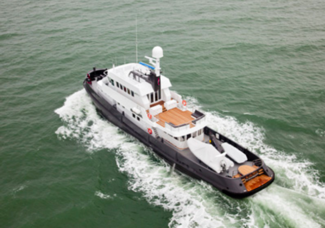 Explorer Yacht LARS Image courtesy of Felix Buytendijk Yacht Design