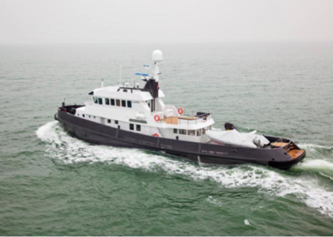Explorer superyacht LARS Image courtesy of Felix Buytendijk Yacht Design