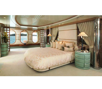 Feadship Motor Yacht HUNTRESS - The Master Suite