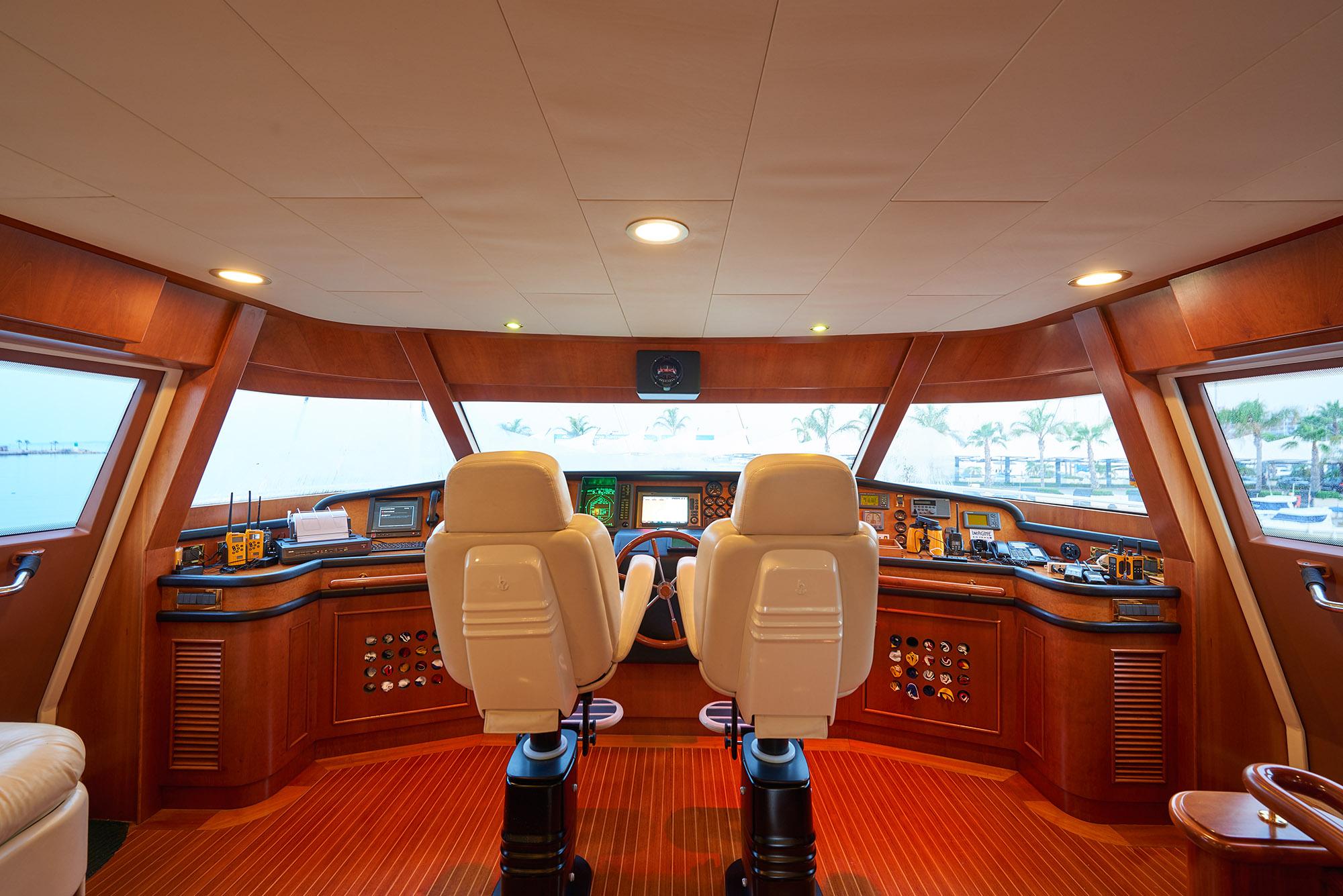 Ferretti Motor Yacht IMAGINE - Bridge