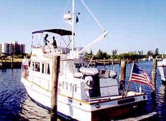 Grand Banks 42 Trawler