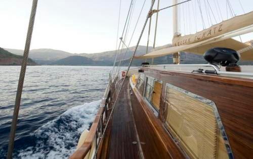 Gulet AEGEAN SCHATZ -  Side Deck