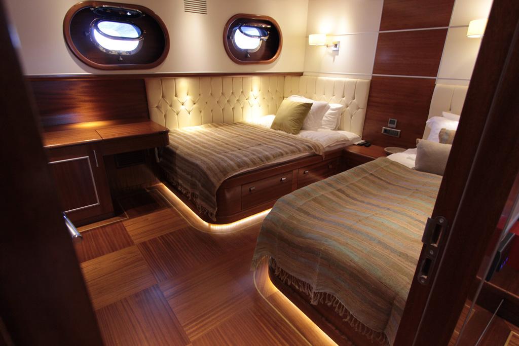 Gulet CARPE DIEM V -  Twin Cabin Aft