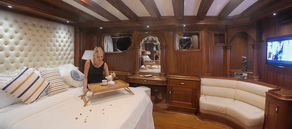 Gulet MARENOSTRUM - Master cabin