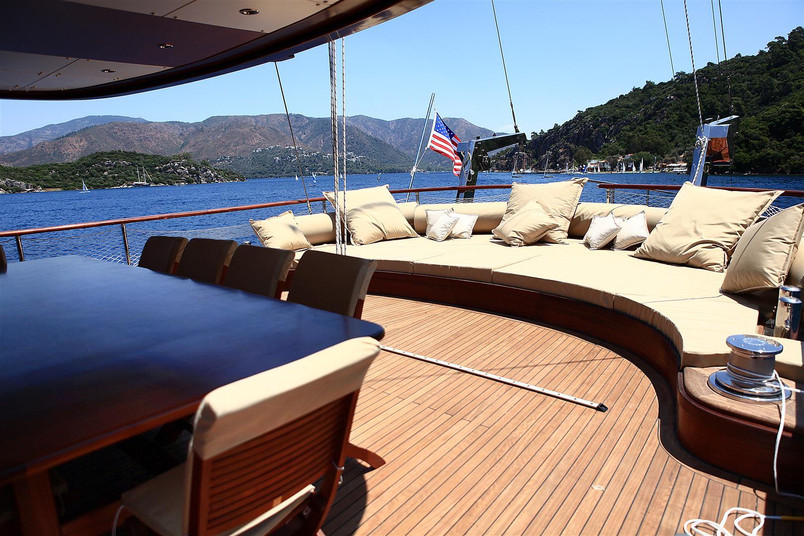 Motor Sailor Mezcal 2 Yacht Charter Details Turkish Gulet