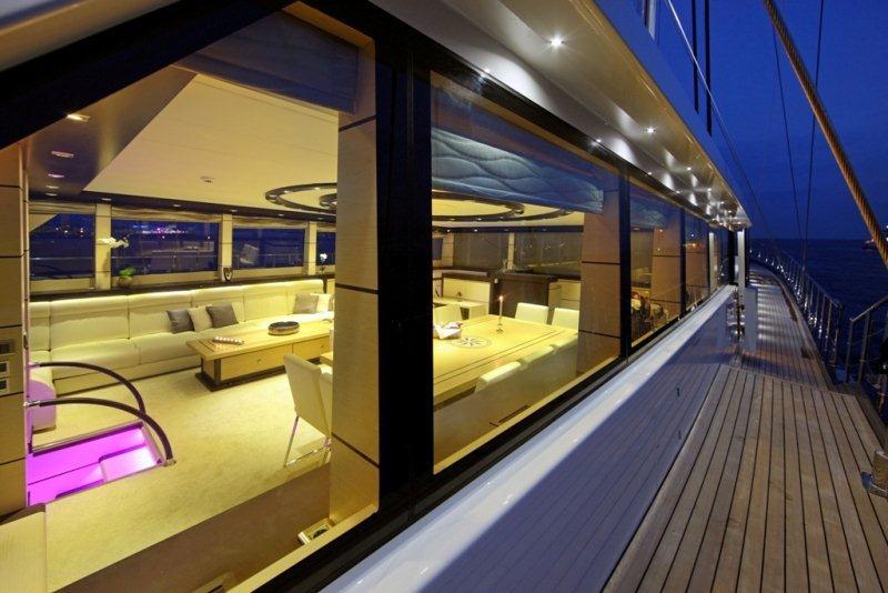 Gulet Perla Del Mare -  Side Deck