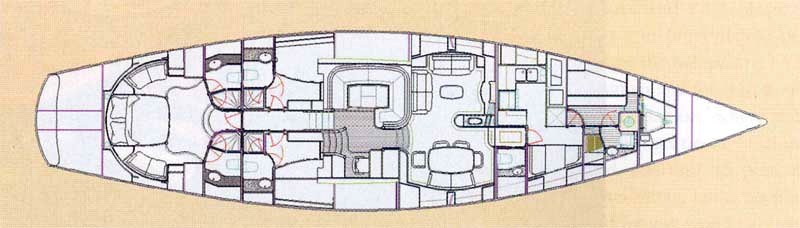 HANSEAT IV -  Layout