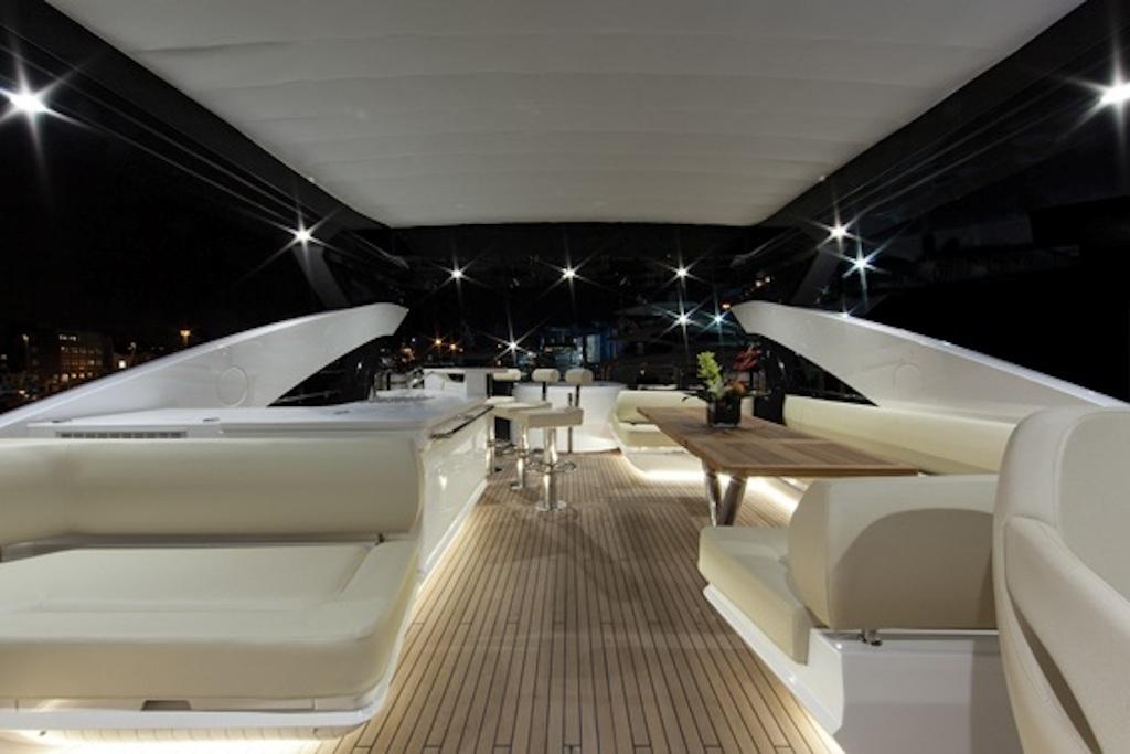 HIGH ENERGY yacht - Flybridge