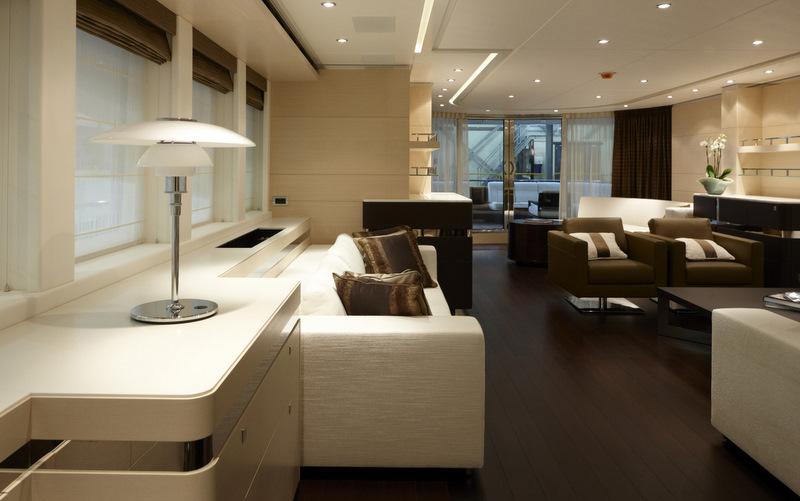 Heesen Luxury Yacht Lady L Interior