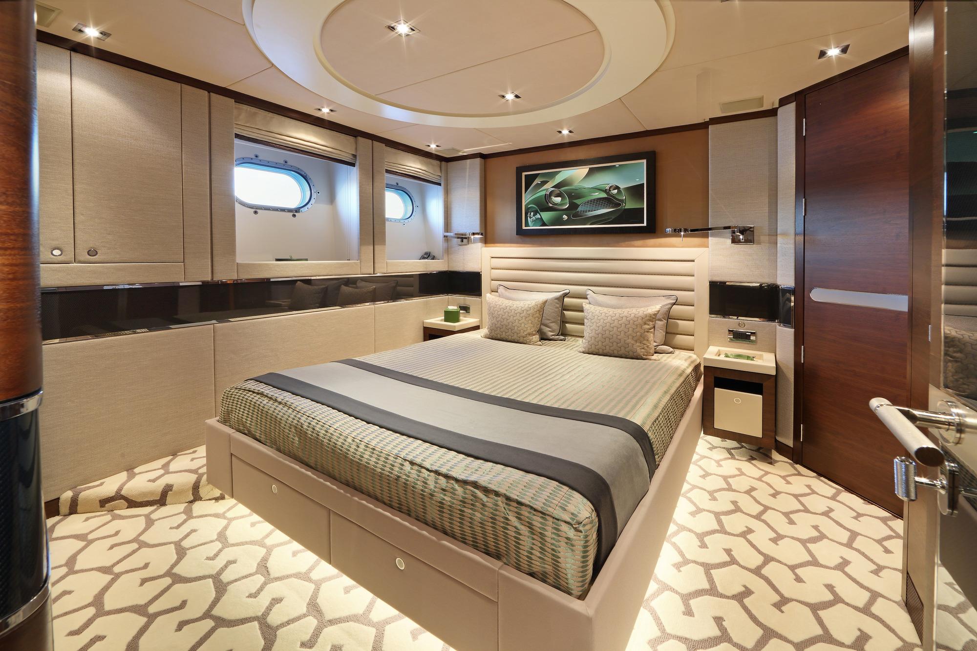 Heesen yacht AURELIA - Guest cabin 1