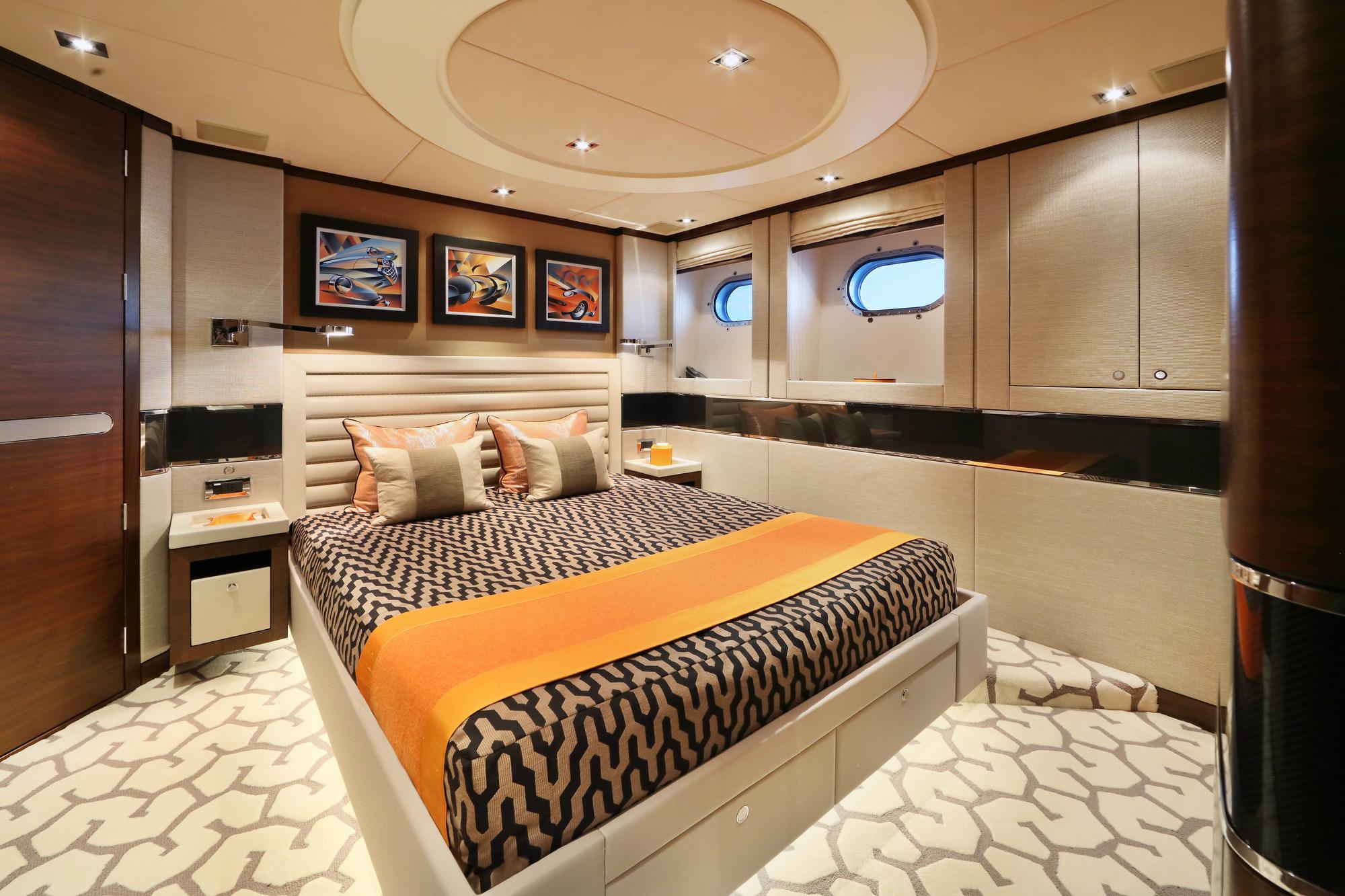 Heesen yacht AURELIA - Guest cabin 2