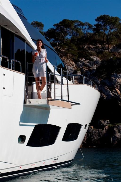High Energy superyacht - Balcony
