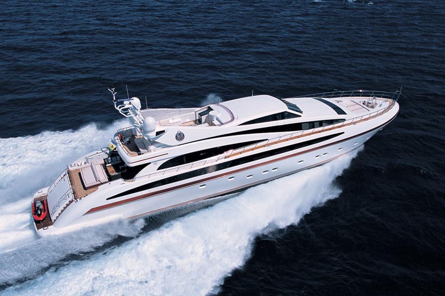 ISA Motor yacht SAMJA - Main