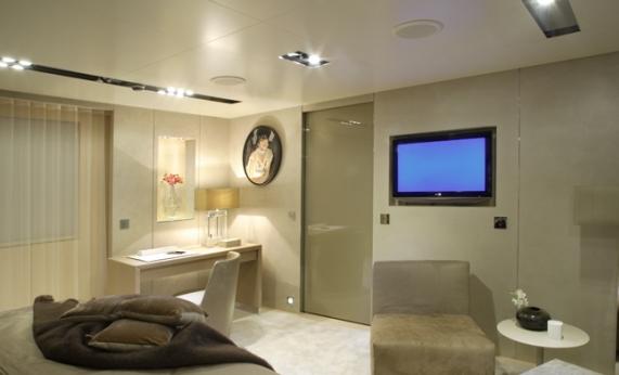 Icon Yacht - Master Suite Interior