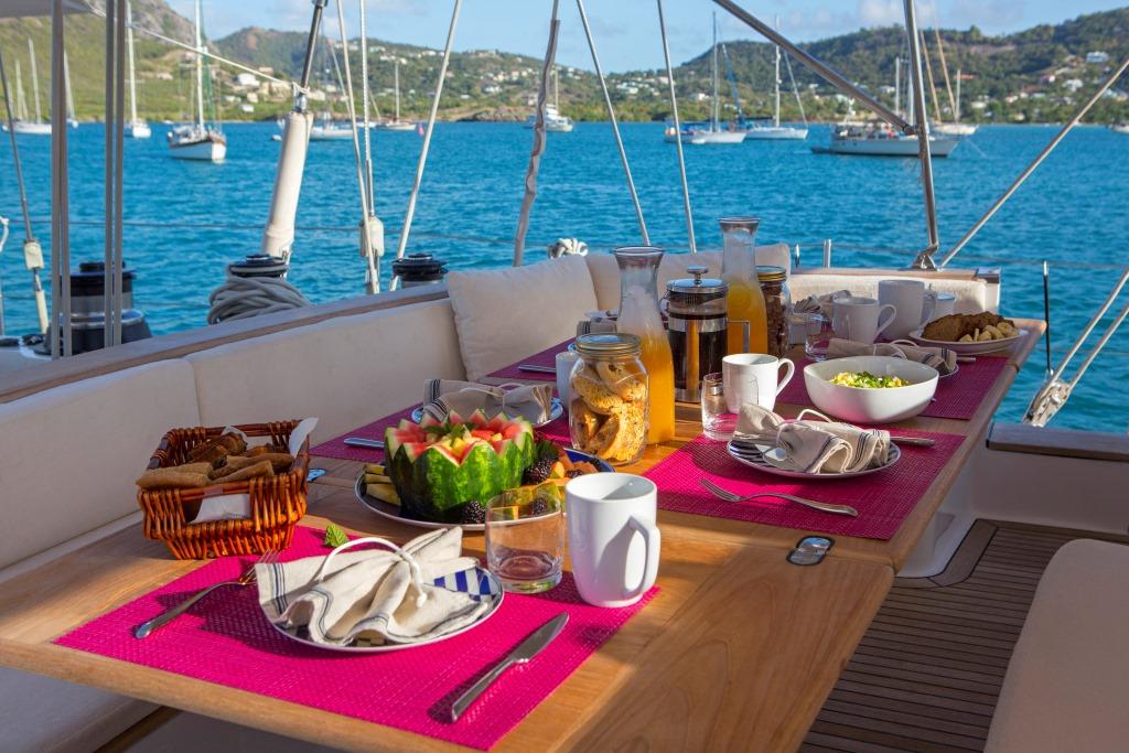 JUPITER Sailing yacht - Alfresco dining