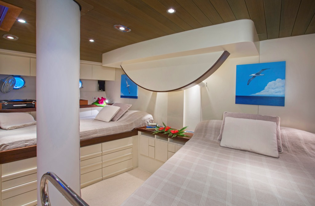 JUPITER Sailing yacht - Master cabin