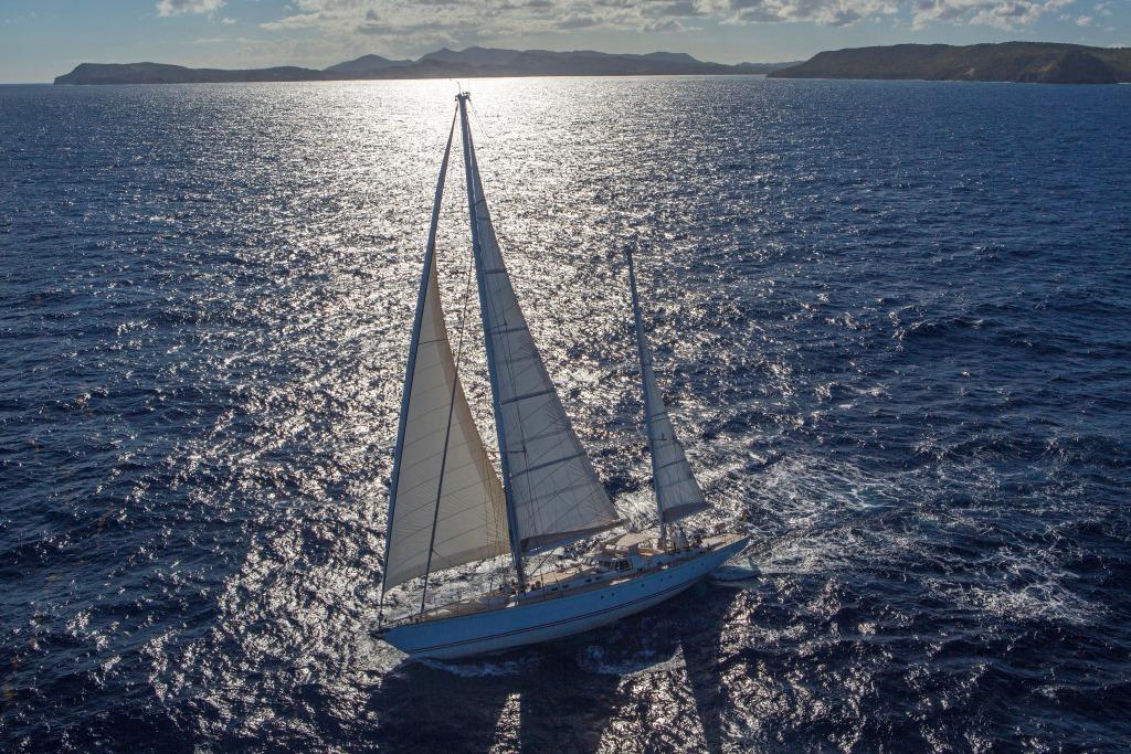 JUPITER Sailing yacht - Under sail