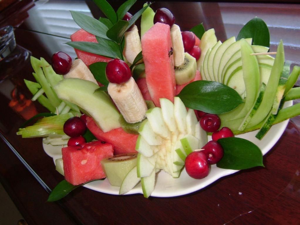 Jasmin -  Fruit platter