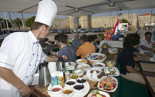 KAIROS - Outside Deck Dining