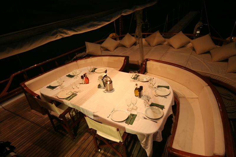 KAPTAN SEVKET -  Aft Deck Al Fresco Dining
