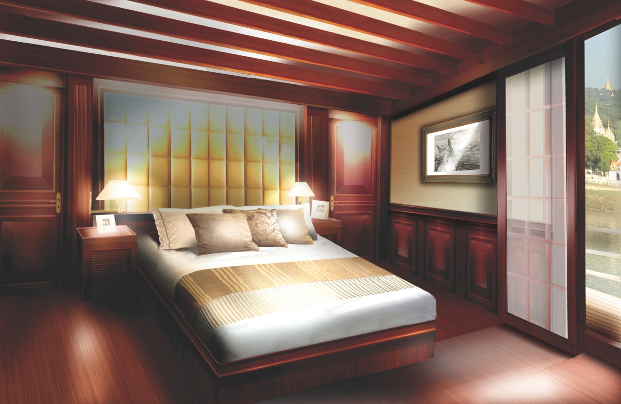 Kalay Pandaw - Luxury owners suite