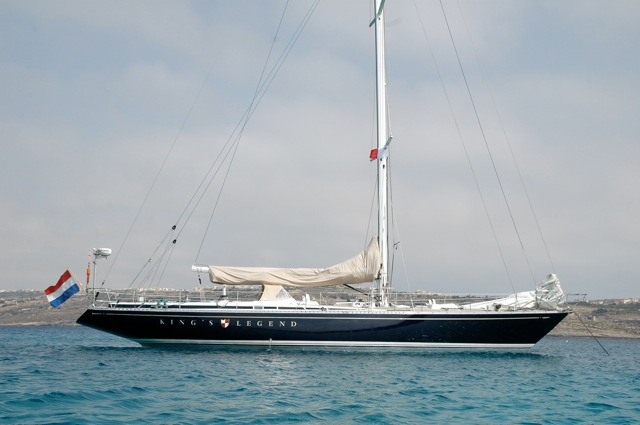 Racing Sail Kings Legend Yacht Charter Details Swan 65