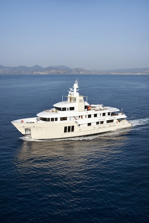 Luxury Charter Yacht E & E - explorer yacht designed by Vripack and constructed by Cizgi Yachts