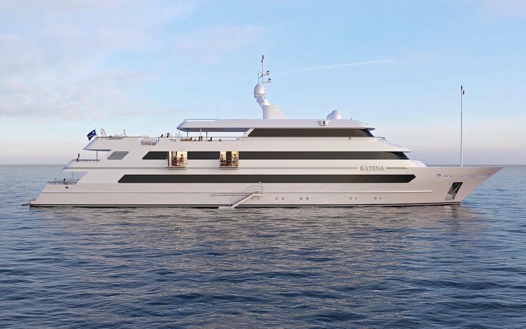 Luxury motor yacht KATINA