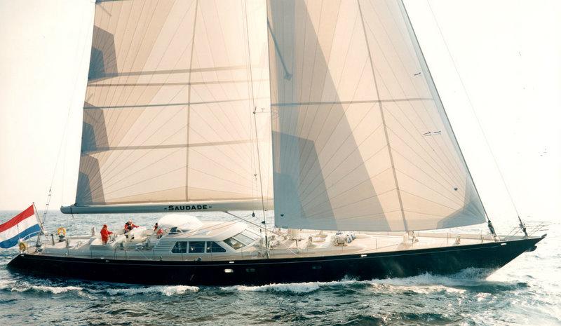 Luxury sailing yacht Billy Budd (ex Saudade)