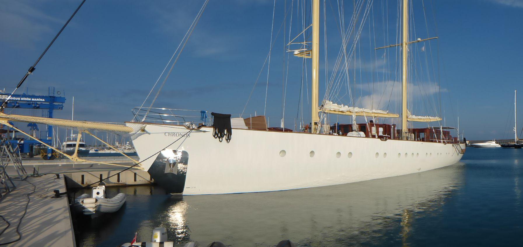 Luxury sailing yacht CHRONOS