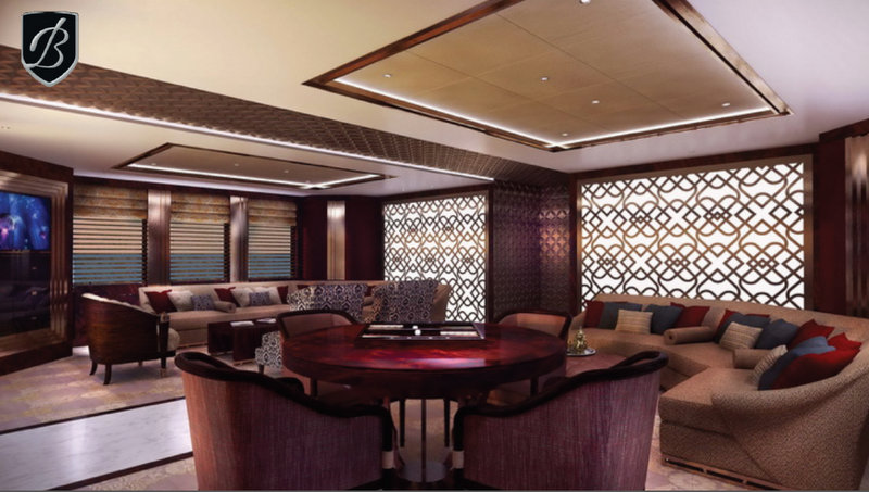 Luxury superyacht Alfulk
