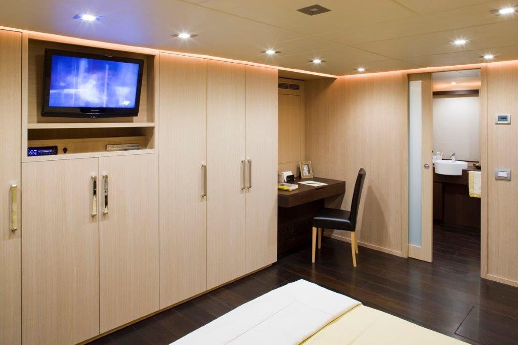 Luxury yacht ARIA - Owner cabin