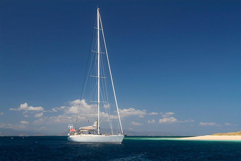Luxury yacht Aspiration