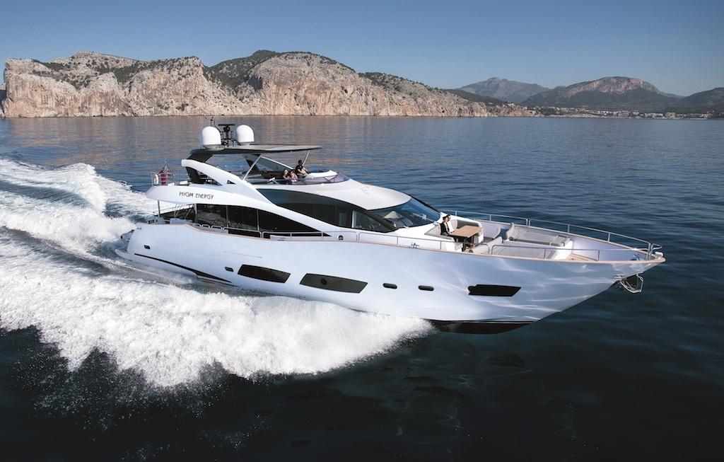 Luxury yacht HIGH ENERGY