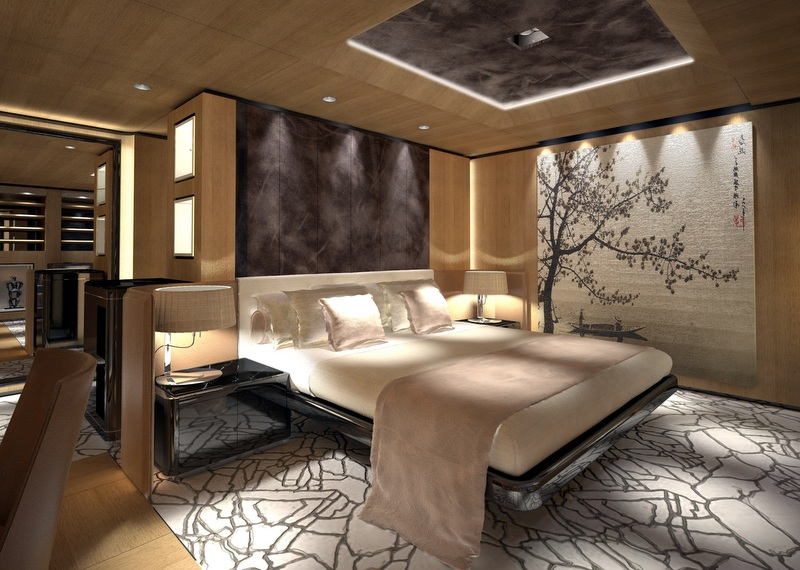 Luxury yacht S693 by Tankoa - VIP Cabin