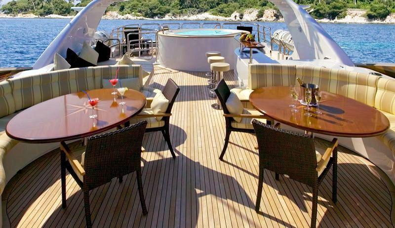 MAMA MIA -  Sun deck