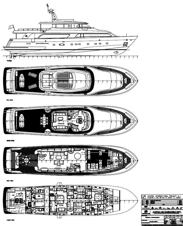 MARIA II of London -  layout