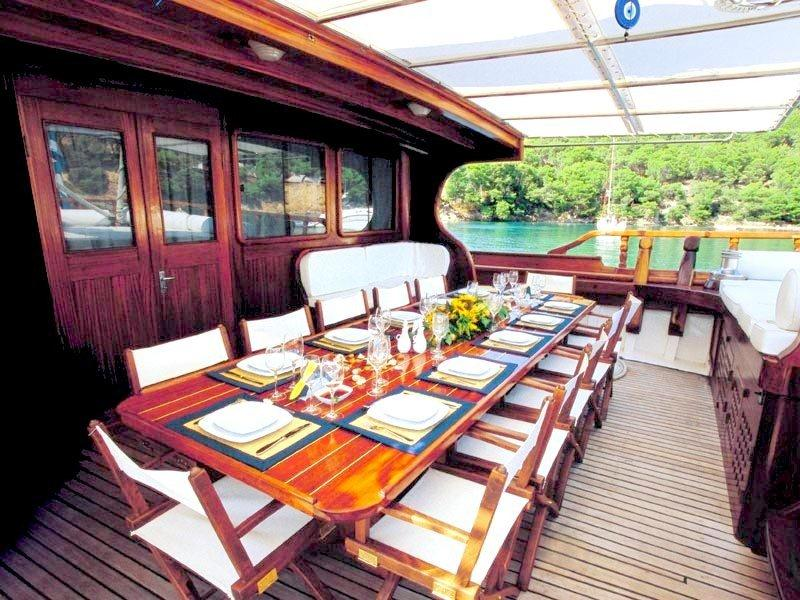 MATINA -  Aft Deck Dining