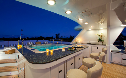 MILK and HONEY -  Spa Pool and Bar on Sundeck