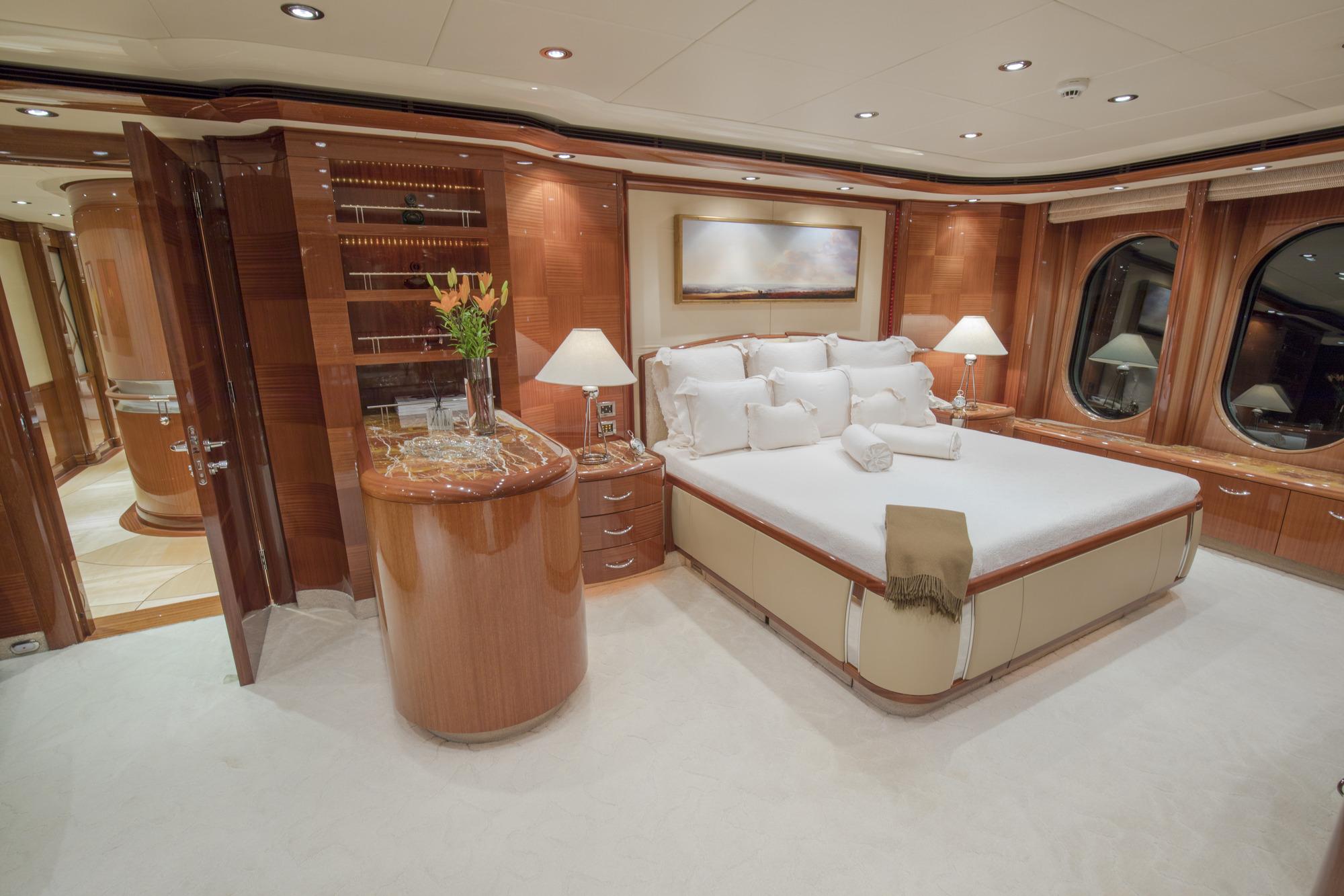 MY ALLEGRIA - Master stateroom main deck forward