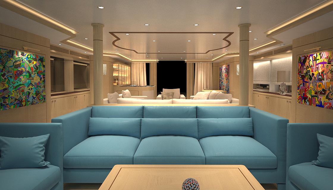 MY BLUE VISION - Salon view