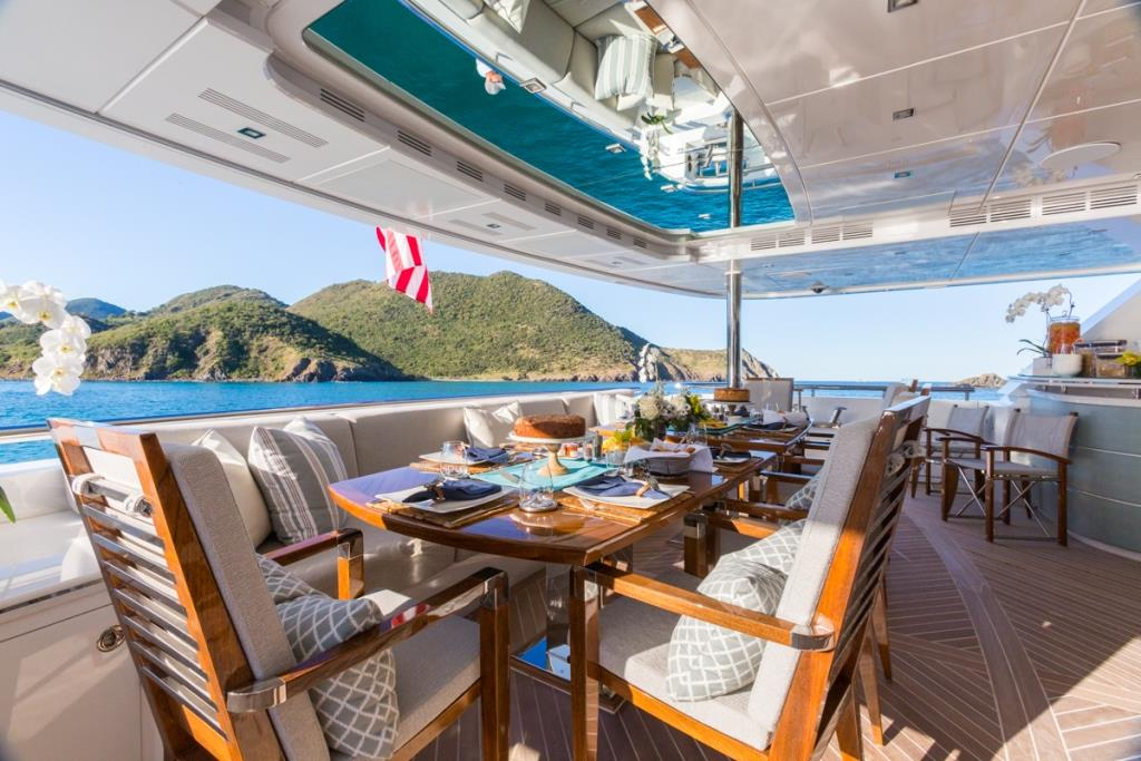 MY KING BABY - Main aft deck