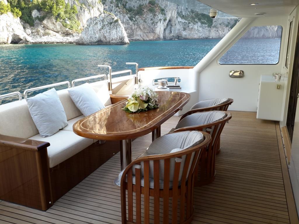 MY LADYSHIP - Main deck seating