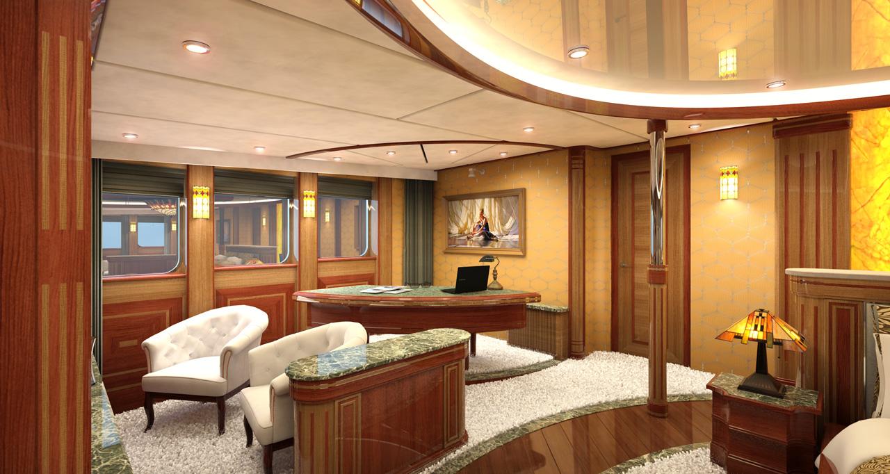 MY LEGEND - Master suite lounge rendering