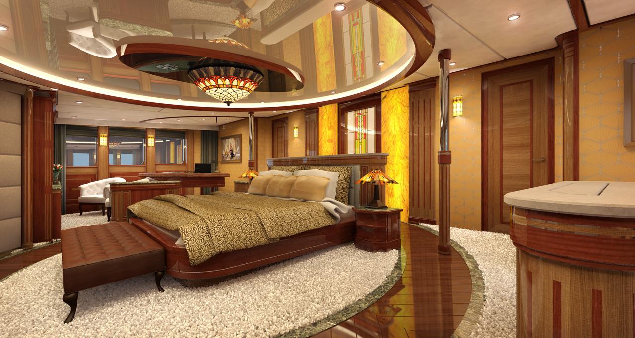 MY LEGEND - Master suite view rendering