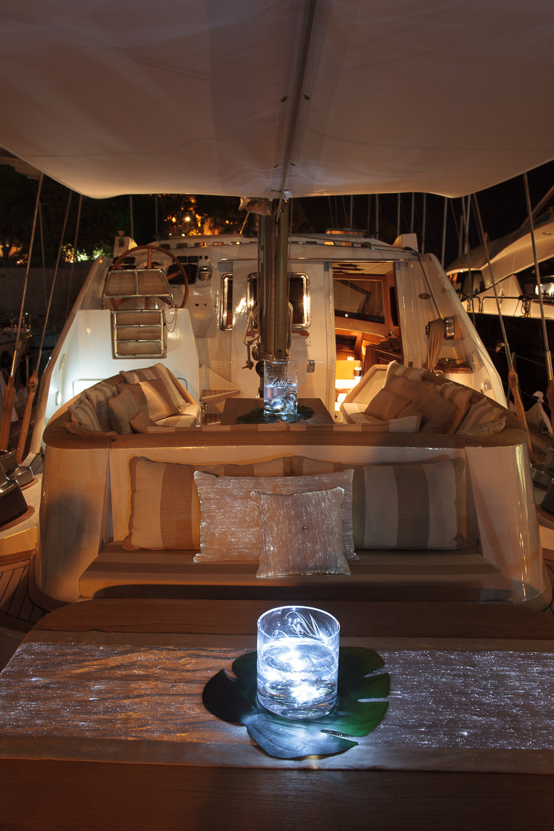 MY LOTTY Yacht - nighttime relaxation